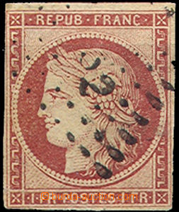 45189 - 1849 Mi.7, wide margins, thin place UL corner, c.v.. 1000€