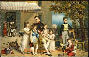 45239 - 1900 NAPOLEON I.  color lithography. postcard Stengel, repro