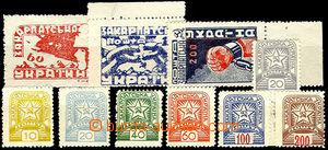 45240 - 1945 Mi.78-80A, 81-86, 88