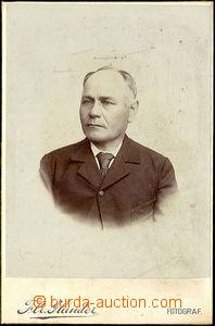 45456 - 1900 kabinetní fotografie  portrét muže, fotograf Flr. Gl