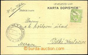 45468 - 1915 MAĎARSKO  firemní lístek W.Eugen V.Feller - Stubnica