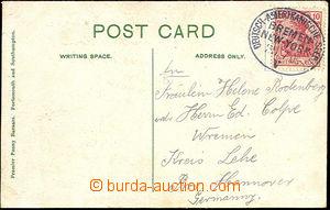 45531 - 1909 NĚMECKO  pohlednice Southamptonu zaslaná do Německa,
