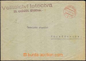 45624 - 1945 Velitelství letectva/ III. oddělení štábu, řádko