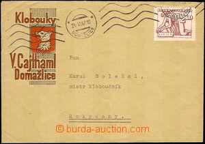45628 - 1947 CZECHOSLOVAKIA 1945-92  Klobouky V.Cajthaml, Domažlice