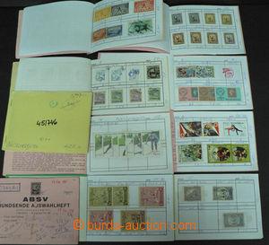 45783 - 1870-1970 NICARAGUA  sestava 10ks malých výběrových seš