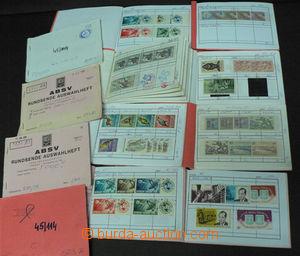 45787 - 1870-1970 TOGO  sestava 12ks malých výběrových sešitů