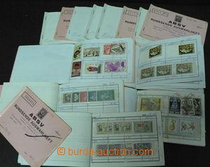 45790 - 1870-1970 TUNISIA  sestava 14ks malých výběrových sešit