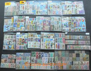 45802 - 1888-1970 TUNISIA  sestava 21ks malých výmětových karti�