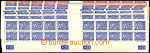 45826 - 1939 Pof.DL1-14M Doplatní, dolní 20-pásy s DČ a meziarš