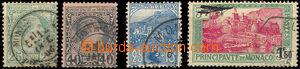 46082 - 1885-1933 Mi.6, 7, 30, 137, sestava 4ks klasických zn., kat