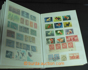 46092 - 1950-90 CHINA, HONG KONG  sestava cca 450ks zn. v zásobník