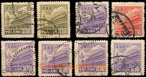 46097 - 1951 Mi.101 2x, 103 5x, 104, nice pieces, cat. 288€