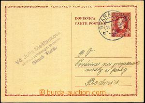 46153 - 1946 CDV VI  slovenský lístek pro cizinu 1,50K Hlinka s ru