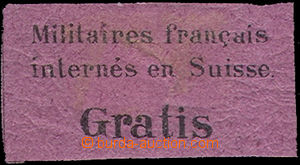 46176 - 1871 portofrei Mi.1, label for military mailing French soldi