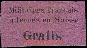 46176 - 1871 portofrei Mi.1, nálepka pro vojenské zásilky francouzsk