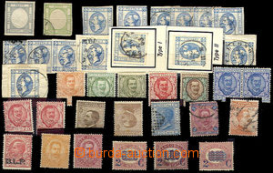 46182 - 1861-1921 selection of 36 pcs of stamp. , 2x classic, genera