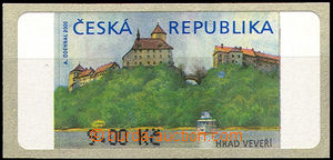 46219 - 2000 Pof.AT1 9CZK without *, production flaw No.1, yellow st