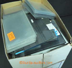 46279 -  PROTECTIVE COVERS  selection of used transparent covers on
