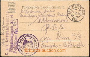 46504 - 1916 K.u.K.. LUFTFAHRTRUPPEN/ AIRCRAFT COMPANY Nr.24  two va