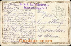 46513 - 1916 K.u.K.. Luftfahrtruppen/ Ballonabteilung No.3  violet s