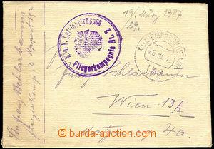 46523 - 1917 K.u.k. Luftfahrtruppen/ Fliegerkompagnie Nr.2  fialové