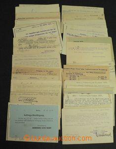 47207 - 1920-38 ČSR I.  sestava 95ks firemních lístků vyfr. zn.