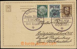 47527 - 1938 Czechoslovak post card postal stationary - postcard34 I