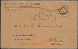 47556 - 1916 K.u.k. Luftfahrtruppen/ Fliegerkompagnie Nr.2, řádkov