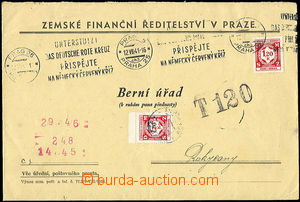 47574 - 1941 service letter Country finance headquarters with Pof.SL