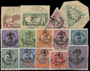47795 - 1918 Pof.RV43-47, RV53-55, RV61-65, Hlubocké vydání - Marešů