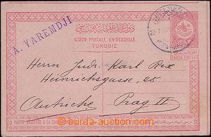 47906 - 1911 mezinárodní dopisnice Mi.P37a, DR Péra Grande?/ 27.7