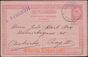 47906 - 1911 international post card Mi.P37a, CDS Péra Grande?/ 27.