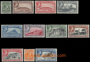 47949 - 1938 Mi.107-117 Landscapes + George VI., complete set, no. 1