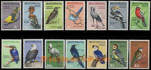 47965 - 1967 Mi.19-32 Ptáci, kompl. série 14ks, svěží, kat. 85�