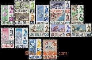 47966 - 1960 Mi.149-162 motivy + Alžběta II., kompl. série 14ks,