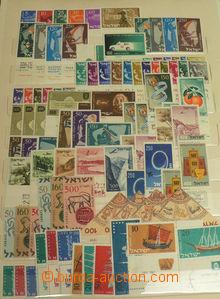 48030 - 1948-1980 ISRAEL  hezká sbírka známek a aršíků, obsahu