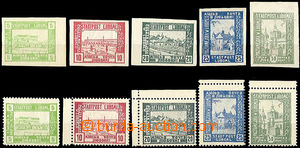 48096 - 1918 LUBOML, 5H - 50H, Mi. a - e, 2 complete sets, 1x with l