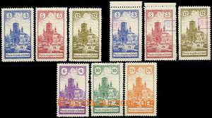 48097 - 1918 Městská pošta ŽARKI, Mi.1-3, 4-6, 7-9, všechna 3 vydání