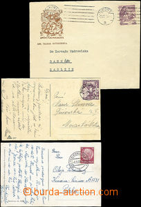 48156 - 1939 3 entires sent to or from Polish occupation in 1939, go