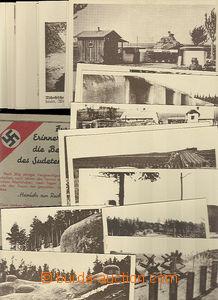 48160 - 1939? sestava 19ks nepoužitých pohlednic se záběry na č