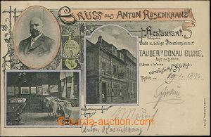 48266 - 1894 Teplice - reklamní koláž, restaurace Anton Rosenkran