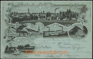 48283 - 1899 NOVÁ VČELNICE (Nový Etink) - jednobarevná kolážová lito