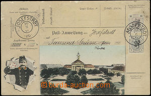 48292 - 1907 Josefstadt (Josefov), collage color postcard order and