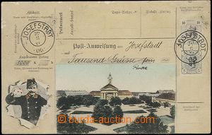 48292 - 1907 Josefstadt (Josefov), kolážová barevná pohlednice pouká