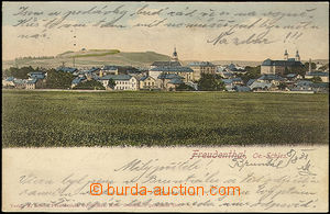 48293 - 1901 Bruntál, general view, long address, used, good conditi