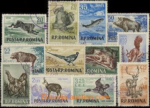 48320 - 1956 Mi.1565-1576 Zvířata, kat. 85€