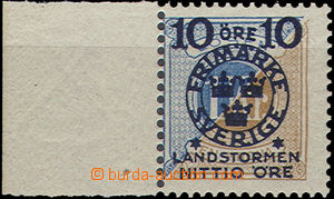 48321 - 1916 Mi.106 krajová s levým okrajem, decentrovaný obraz