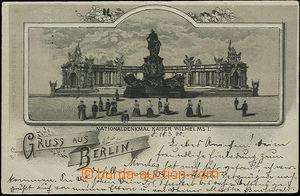 48407 - 1900 Berlín, národní památník císaře Viléma I., jedn