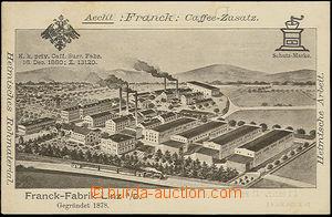 48417 - 1910? Francek's factory for kávoviny in/at Austrian Linzi a
