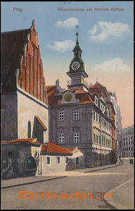 48427 - 1922 PRAGUE - Old New synagogue and Jewish town-hall, Un, we